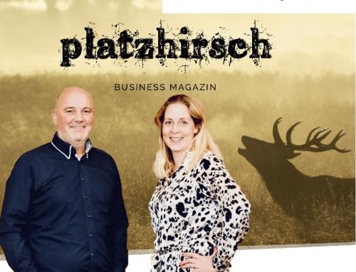 Ganten und Noy im Interview im Business-Magazin Platzhirsch (2020)